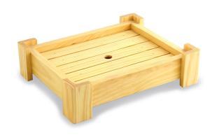 Блюдо-подставка прямоугольное 22-0006