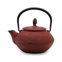 Чугунный чайник вишнёвый A2329-0.45L/CherryRed