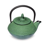 Чугунный чайник зеленый A2329G-0.45L/Green