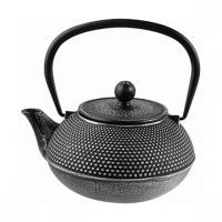 Чайник с ситечком; чугун; 900мл; D=8.9,H=11,L=16см; черный WLT9923-0.9