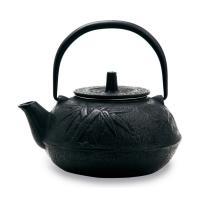 Чугунный чайник чёрный G-013-0.8L/Black