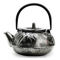 Чугунный чайник серебряный G-013-0.8L/Silver