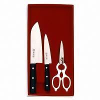 Комплект из 2 ножей и кух. ножниц в под.уп. 11534